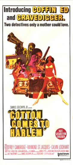 Cotton Comes to Harlem Australian Daybill movie poster