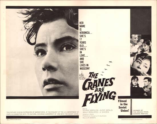 Cranes are Flying, The [ Letyat zhuravli ] US Half Sheet movie poster
