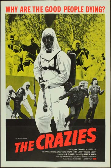 Crazies, The US One Sheet movie poster