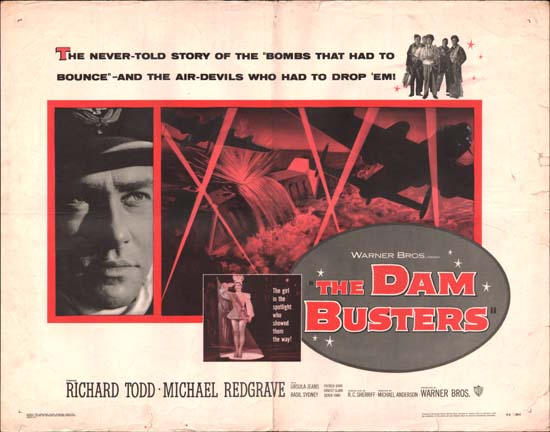 Dam Busters, The [ The Dambusters ] US Half Sheet movie poster