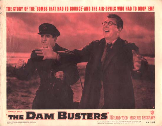 Dam Busters, The [ The Dambusters ] US Lobby Card number 5