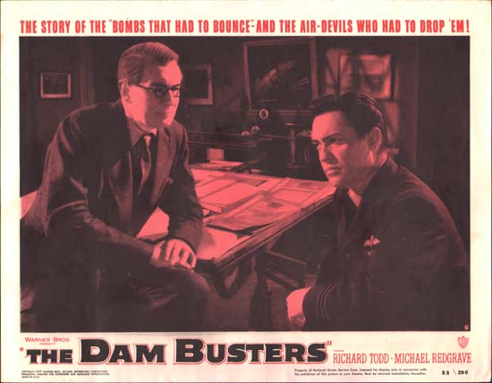 Dam Busters, The [ The Dambusters ] US Lobby Card number 6