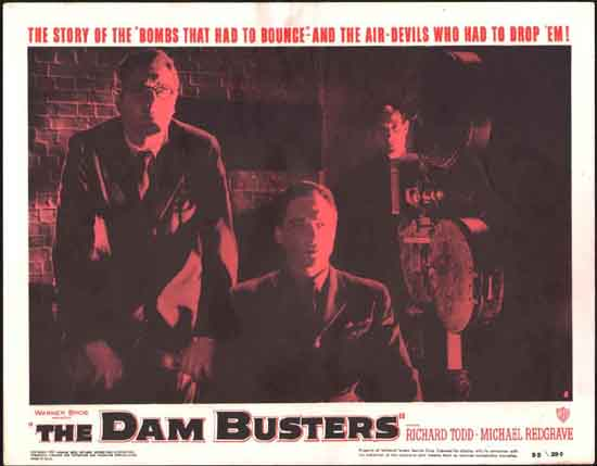 Dam Busters, The [ The Dambusters ] US Lobby Card number 8
