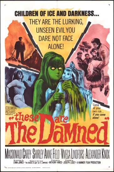 Damned, The [ These Are The Damned ] US One Sheet movie poster