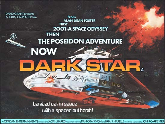 Dark Star UK Quad movie poster