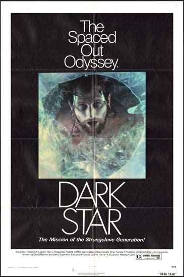 Dark Star US One Sheet movie poster