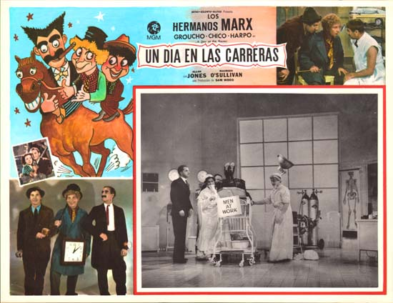 Day at the Races, A Mexican Lobby Card