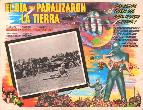 Day The Earth Stood Still, The Mexican Lobby Card