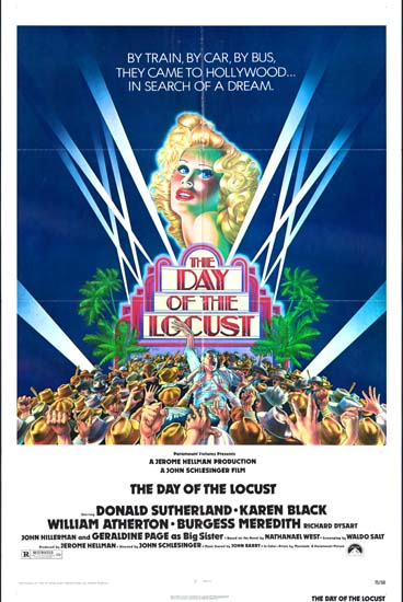 Day of the Locust, The US One Sheet movie poster