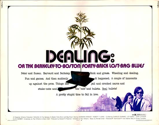 Dealing US Half Sheet movie poster