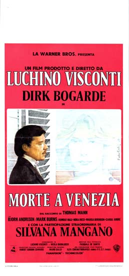 Death in Venice [ Morte a Venezia ] Italian Locandina movie poster