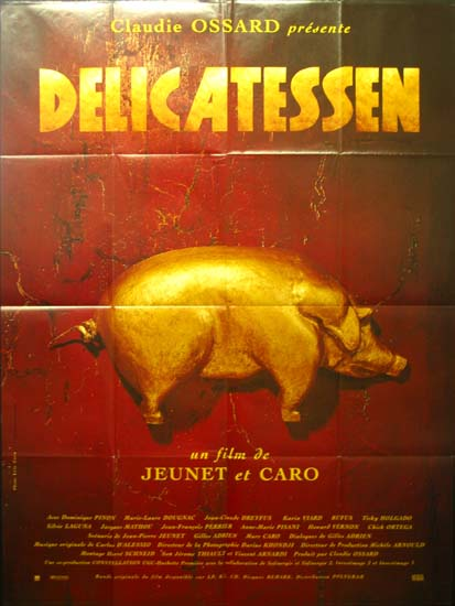 Delicatessen French Grande movie poster