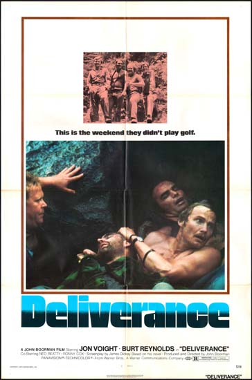 Deliverance US One Sheet movie poster