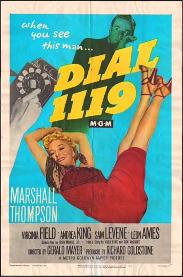 Dial 1119 US One Sheet movie poster