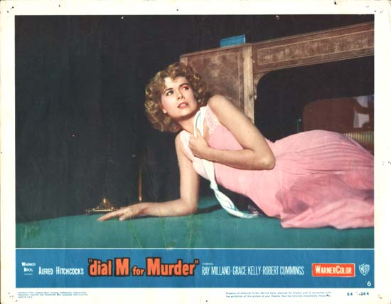Dial M for Murder US Lobby Card number 6