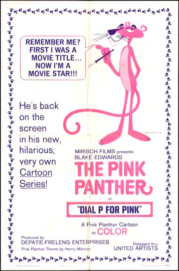 Dial P for Pink US One Sheet movie poster