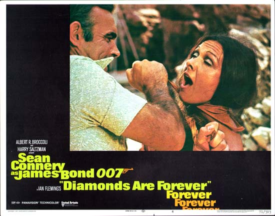 Diamonds are Forever US Lobby Card number 4