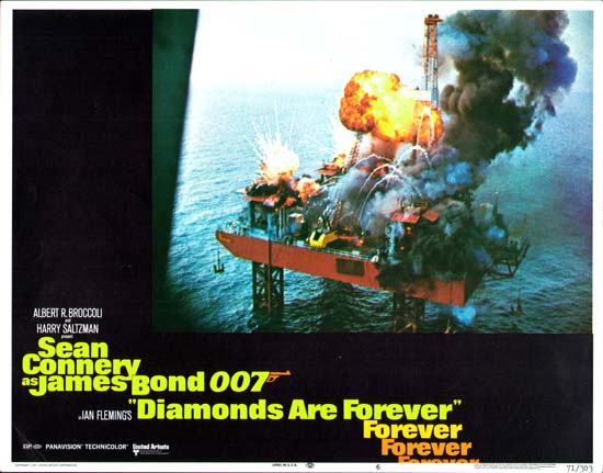 Diamonds Are Forever US Lobby Card number 6
