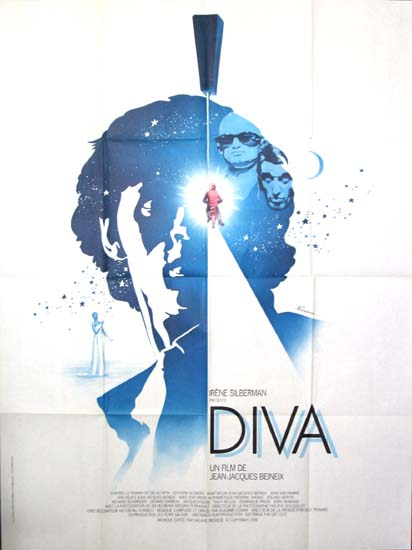 Diva French Grande movie poster