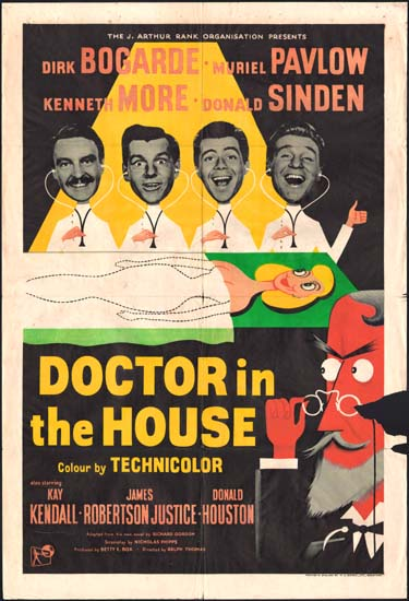 Doctor in the House UK One Sheet movie poster