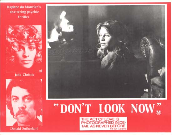 Dont Look Now Australian Lobby Card