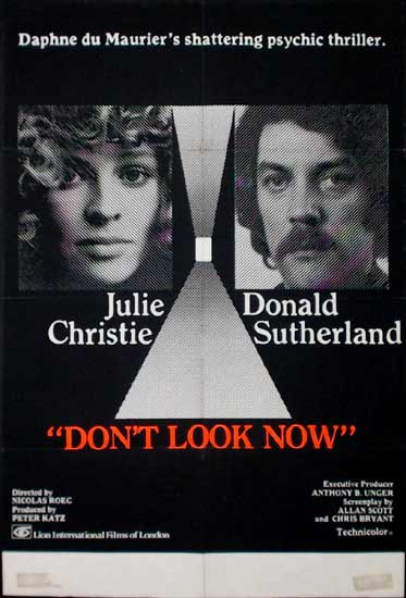 Dont Look Now UK One Sheet movie poster
