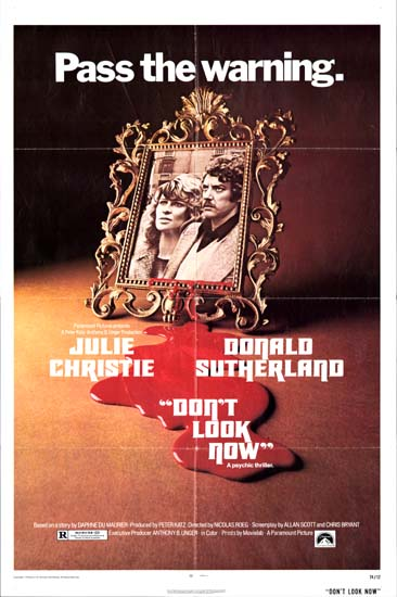 Dont Look Now US One Sheet movie poster