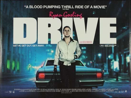 Drive UK Quad movie poster
