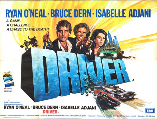 Driver, The GB Quad movie poster