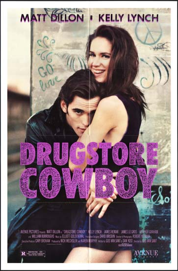 Drugstore Cowboy US One Sheet movie poster