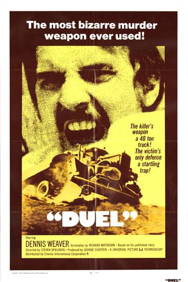 Duel US One Sheet movie poster