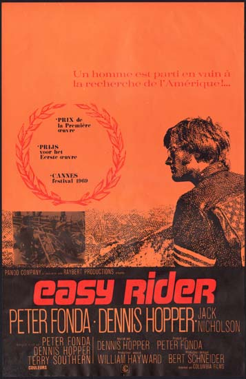 Easy Rider - original movie Easy Rider Movie Poster