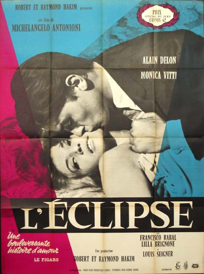 Eclisse, L' [ L' Eclipse ] French Grande movie poster