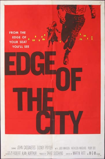 Edge of the City US One Sheet movie poster