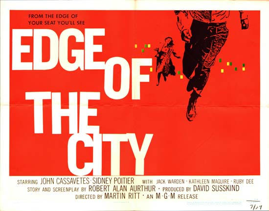 Edge of the City US Half Sheet movie poster