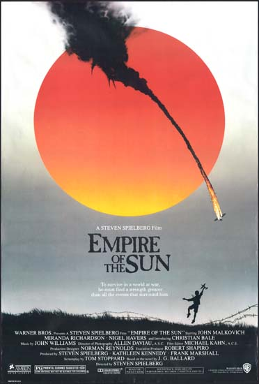Empire of the Sun US One Sheet movie poster