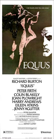 Equus US Insert movie poster