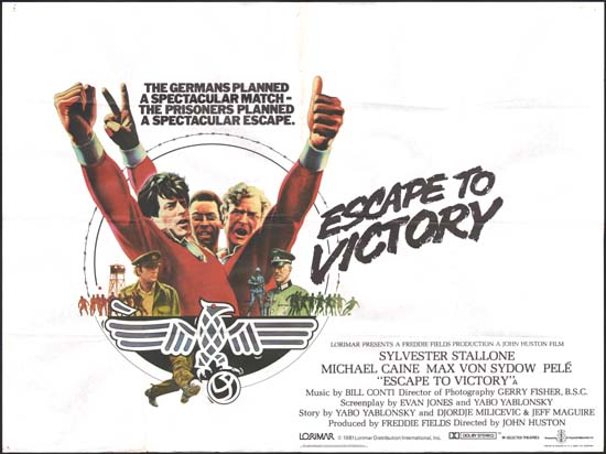 Escape to Victory UK Quad movie poster