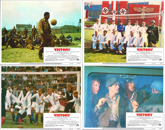 Escape to Victory US Lobby Card Set of 8