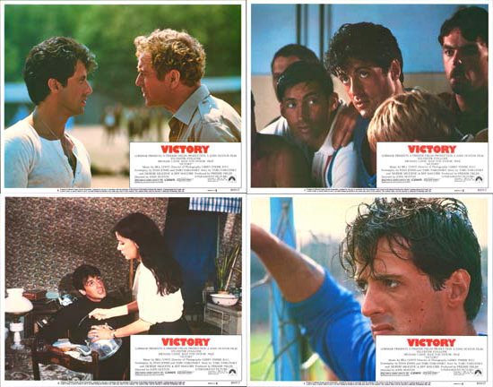 Image 2 of Escape to Victory US Lobby Card Set of 8