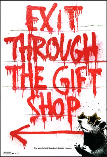 Exit Through the Gift Shop US One Sheet Fly Poster movie poster