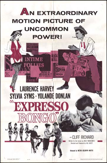 Expresso Bongo US One Sheet movie poster