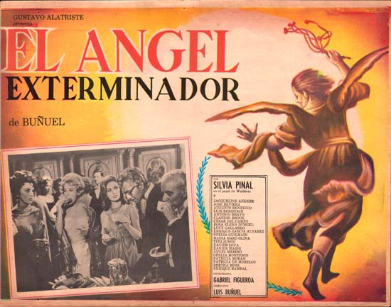 Exterminating Angel, The [ El Angel Exterminador ] Mexican Lobby Card