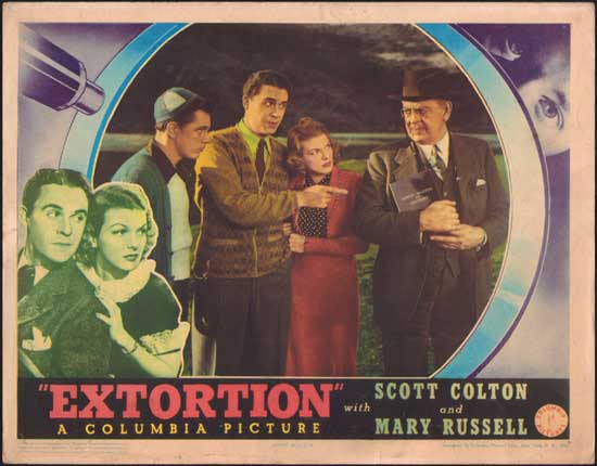 Extortion US Lobby Card