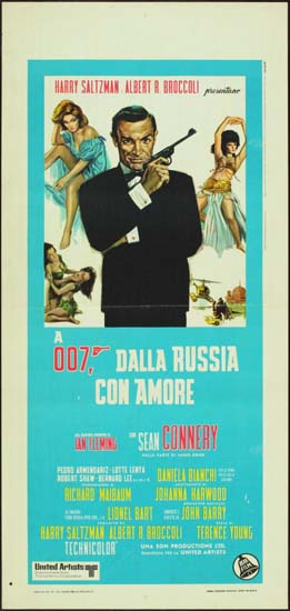 From Russia With Love Italian Locandina