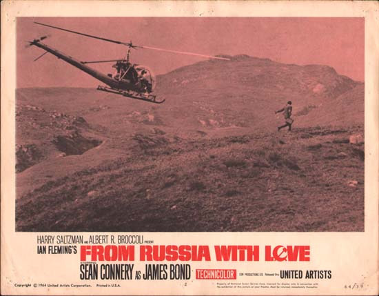 From Russia With Love US Lobby Card number 2
