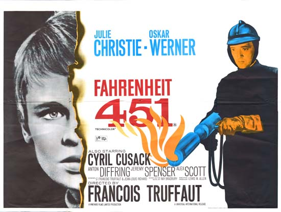 the real importance behind outlawed books and literature in fahrenheit 451 by ray bradbury Ver vídeo  ray bradbury's classic dystopian novel, fahrenheit 451, is set in a society where books are outlawed and firemen are charged with burning them.