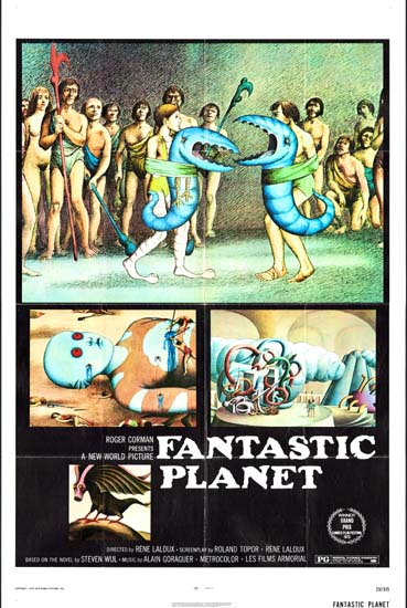 Fantastic Planet [ Planete Sauvage ] US One Sheet movie poster