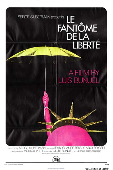 Fantome de la Liberte, Le [ The Phantom of Liberty ] US One Sheet movie poster