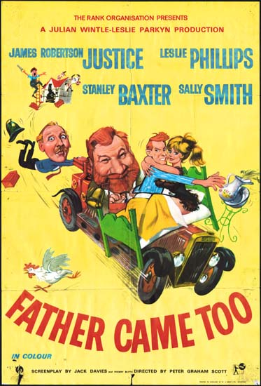 Father Came Too UK One Sheet movie poster